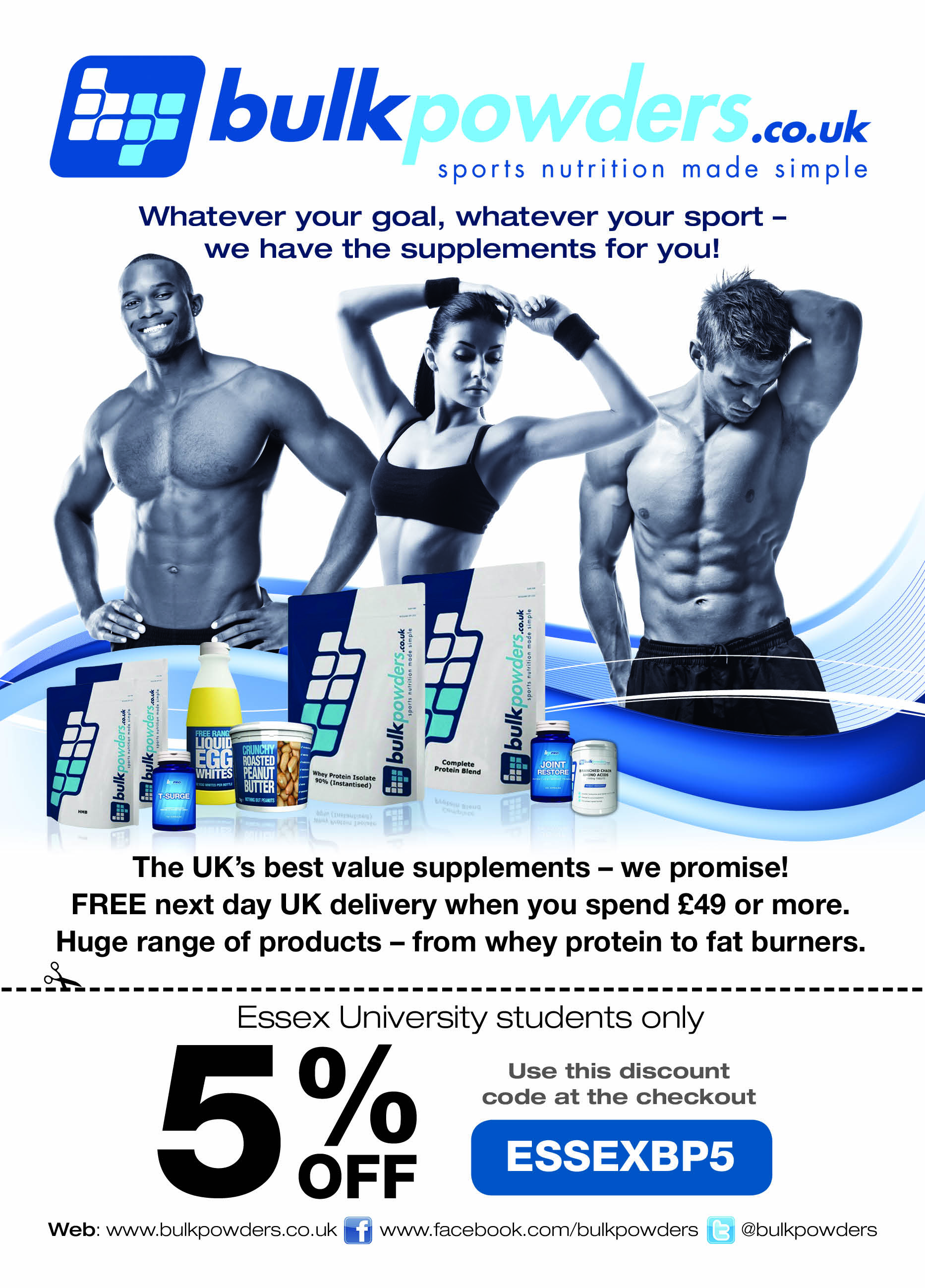 Gym Leaflet
